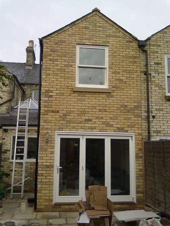 Sealy builders builder cambridgeshire extensions bricklayer ground